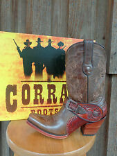Golden Saltillo Harness ~Tooled Sole~Corral G1907 Ladies Western Boot