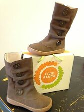 Livie and Luca Marchita Taupe Girls Boot Multiple Sizes