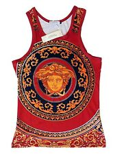 Brand New Authentic Versace Tank Top T-Shirt With Medusa Head Sizes M,L,XL,XXL