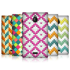 HEAD CASE DESIGNS WOVEN PAPER PATTERNS CASE COVER FOR NOKIA X2 DUAL SIM