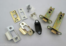Choose from 4 designs -TUBULAR DOOR HANDLES LEVER ON ROSE MORTICE LATCH & CATCH