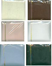 """ALL OCCASION BLANK SCRAPBOOKS ALBUMS 20 pages 6"""" x 6"""" - Pick color"""
