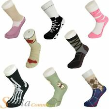 Silly Socks Novelty Design Cotton Converse Trainer Sneakers Sock Size 5-11