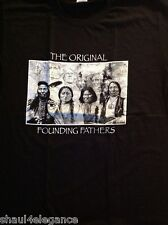 Founding Fathers with Rushmore Background Native American 2 sided Americana NEW