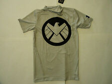 Under Armour HG Alter Ego Avengers Shield Agent Compression man shirt Brand New