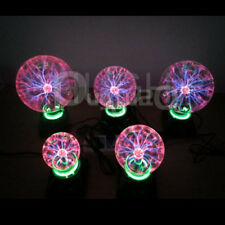 220V USB Magic Plasma Ball Light Disco Sphere Night Lamp Desktop Xmas Lighting