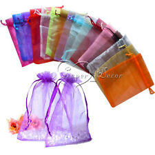 150 pieces Sheer Organza Wedding Party Favor Decoration Gift Candy Pouch Bags