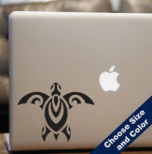Tribal Sea Turtle Decal -Vinyl Sticker Car or Laptop