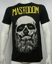 Authentic MASTODON Admat Beard Skull Logo Slim Fit T-Shirt S M L XL XXL NEW
