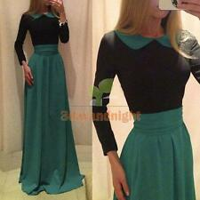 Women New Sexy maxi bodycon bandage Casual Party prom long Evening Dress