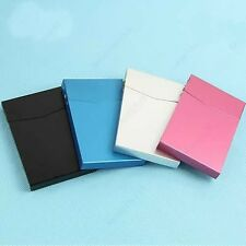Hot Slim Business Card Case Holder Box Automatic Switch Cigarette Case Pocket