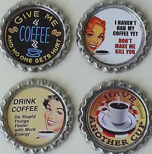 Retractable Badge Holder - Coffee Drinker - Funny - Choose Your Favorite One!