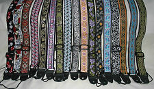 "Mandolin / Ukulele / Banjo wider 1.5"" Instrument Shoulder Strap - New Designs"