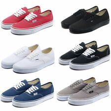 6 color Mens Van Classic Casual Canvas Shoes Trainer Athletic Sneakers GA006