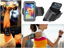 Slim Black Sports Gym Running Armband Pouch Cover Case For Motorola Droid Turbo