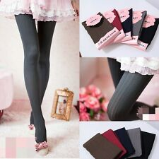 New Thick  Women  Pattern Jacquard Pantyhose Tights Five Colours
