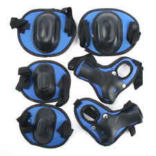 Skateboard Roller Blading Elbow Knee Wrist Protective Safety Gear Pad Guard 6pcs