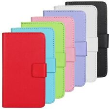 PU Leather Wallet Mobile Phone Cell Case Cover For LG  With Card Holder