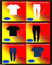 Mens Thermal Trousers Long Johns Warm Underwear Baselayer OR COMPLETE SET