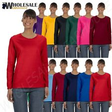 Gildan 100% Heavy Cotton Ladies' 5.3 oz. Missy Fit Long Sleeve T-Shirt MG540L