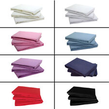 100% COTTON JERSEY FITTED BED SHEET SINGLE DOUBLE KING SUPER KING