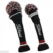 New - Titleist Pom Pom Knitted Golf Club Headcover - Driver or Fairway