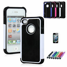 SLIM SHOCK PROOF SERIES CASE COVER FITS APPLE IPHONE 4 / 4S