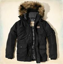 NWT Hollister By Abercrombie Mens Doheney Parka Jacket, LARGE