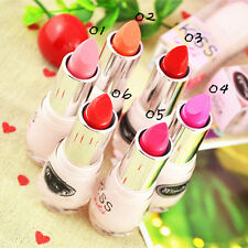 Pure Color Lip Gloss Moisturizing Long Lasting Lip Stick Cute Portable 10 Colors