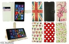 Stylish Best PU Leather Wallet Case Cover for Microsoft Lumia 535 / 535 Dual Sim