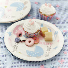 Tiny Feet Baby Shower Christening Party Tableware, Plates, Cups & Napkins etc