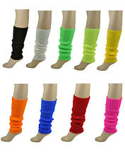 Sexy Flash Dance 80's Yoga Ballet Short Leg Warmers Adult Dancing Queen Womens