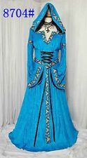Game of Thrones Style Renaissance Blue Dress S/M, L/XL   NEW