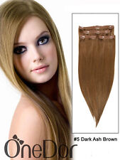 """OneDor 20"""" Remy 100% Human Hair Long Straight Clip in/on Extension 70g 4 pieces"""