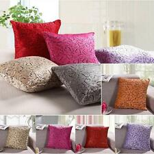 Sofa Home Bed Decorative Throw Pillow Case Cushion Cover Square Heart Pattern