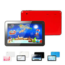 """Multi-Color Tablet 10.1"""" 16GB Google Android 4.4 Kitkat Quad Core Dual Cameras"""