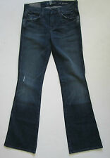 7 For All Mankind Jeans 24 25  A Pocket Bootcut Jean NWT $198