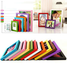 """A4/5""""/6""""/7""""/8"""" Multi-size Room Decor Wooden Picture Photo Wall Frame"""