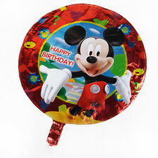 "MICKY&Minne HAPPY BIRTHDAY 18"" Foil Helium Balloon Party Gift Decoration"