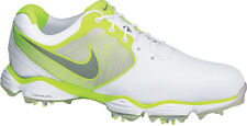 Nike Lunar Control Golf Shoes White/Volt Mens Closeout 552073-102 New