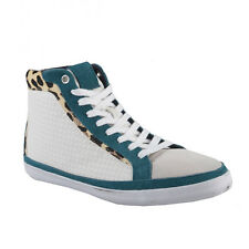 Just Cavalli Men's Suede Pony Hair Lace Up Sneakers Shoes Sz 8 9 10 12