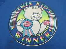 """Hanes Fifty-Fifty """" This Kid's A Winner """" Short Sleeve T-Shirt w/Bear 2 Colors"""