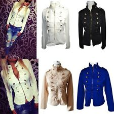NEW Women Sexy Ladies Parka Breasted Zipper Coat Casual Fashion Top Jacket Coat