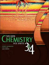 NEW Nelson Chemistry VCE Units 3 and 4 2e Student Book Plus Access Card for 4 Ye