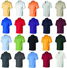 Gildan Shirts  Mens Ultra Cotton Ringspun Pique Sport Shirt Polo Tee S-3XL 3800