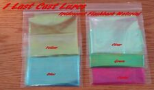 "1 sheet 5"" X10""  Iridescent Flash Back scud back  fly tying 1 Last Cast Lures"