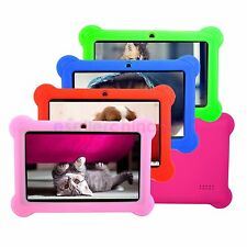 7in Mutilcolor Google Android 4.4 Tablet PC 8GB WIFI Dual Camera Bundle Case New