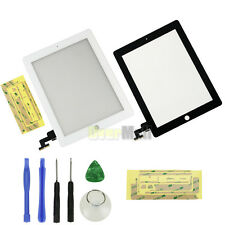 New Touch Screen Glass Digitizer Lens Replacement For iPad 2 Black /White +Tools