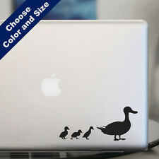 Duck with Ducklings Decal for Car or Laptop