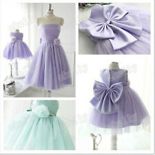 New Girls Party/Flower/Formal/Wedding/Princess/Prom/Bridesmaid/Christening Dress